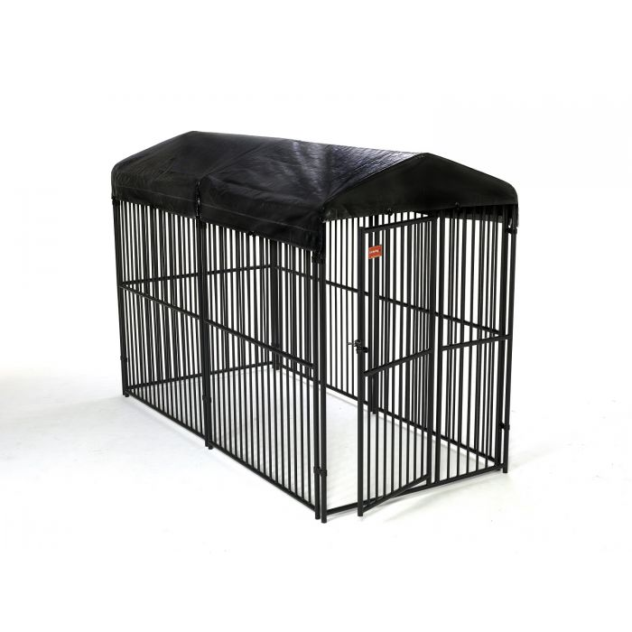 Lucky Dog® Euro Style 10' x 5' Kennel with Cover