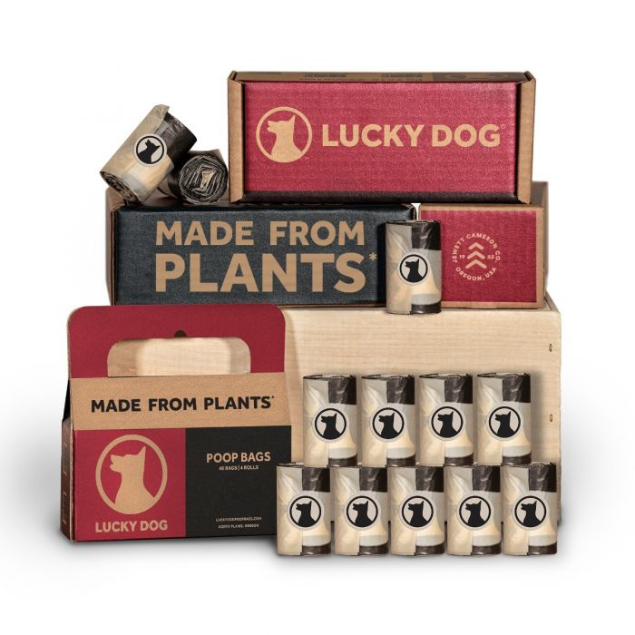 Lucky Dog Poop Bags | Made From Plants