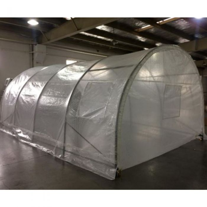 Weatherguard Arched Roof, Walk-In Greenhouse, Spring Gardener