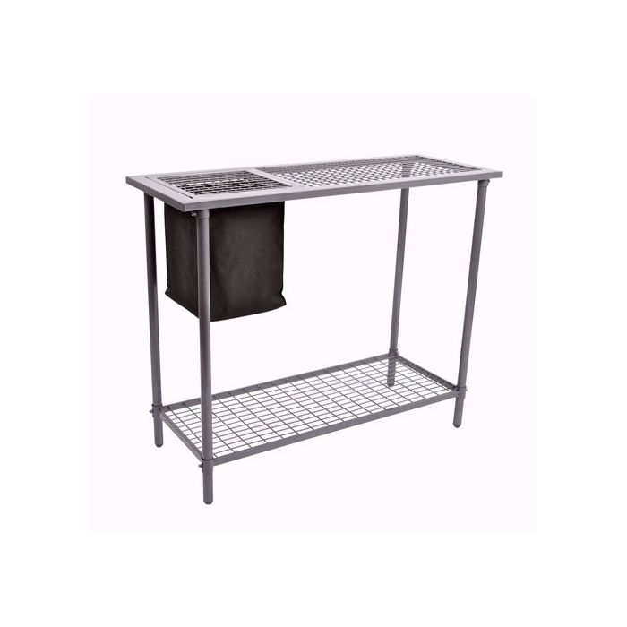 Spring Gardener Potting Workbench w/ Wire Mesh Top