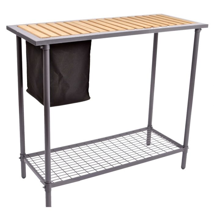 Spring Gardener™ Potting Workbench w/ Wooden Top