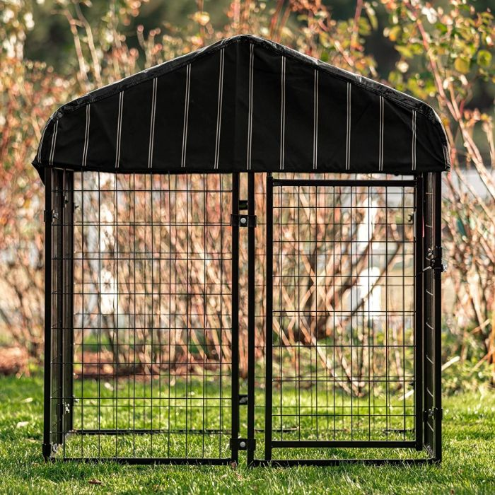 "Pet Resort Welded Wire Dog Kennel 52""Hx48""Wx48""L 
